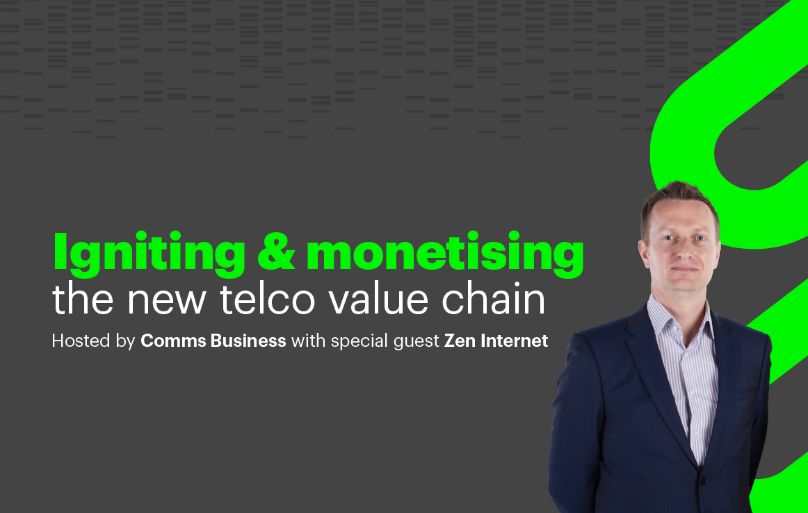 Webinar: Igniting and monetising the new telco value chain